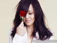 Kim Yun Jin для InStyle March 2013