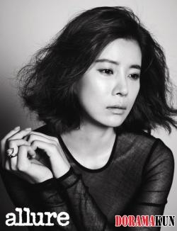 Kim Ji Soo, Ko Yoo Seon для Allure August 2012
