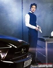 Kwon Sang Woo для Cosmopolitan February 2013 Extra