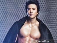 Kwon Sang Woo для Cosmopolitan February 2013