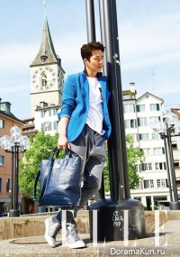 Kwon Sang Woo для Elle June 2013