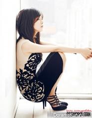 Lee Bo Young для Cosmopolitan January 2013