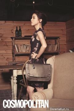 Lee Bo Young для Cosmopolitan Korea December 2013