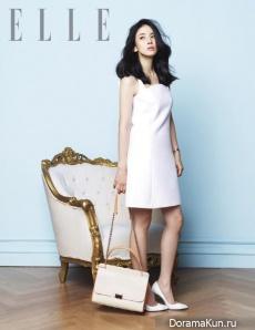 Lee Bo Young для Elle Magazine June 2014