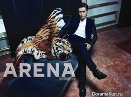 Lee Byung Hun для Arena Homme Plus October 2012