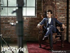 Lee Byung Hun для InStyle October 2012