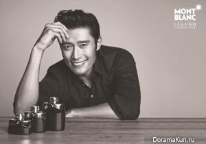 Lee Byung Hun для Montblanc 'Legend' 2013 Campaign