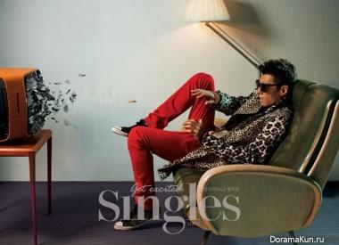 Lee Chun Hee для Singles September 2013