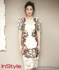 Lee Da Hae для InStyle February 2013