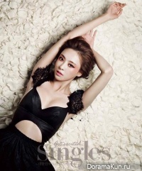 Lee Da Hee для Singles January 2014