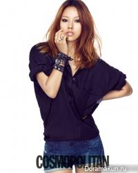 Lee Hyori для Cosmopolitan August 2012