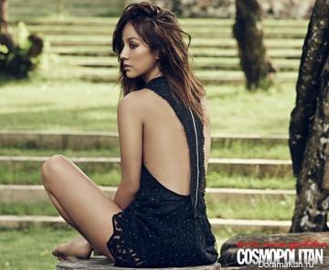 Lee Hyori для Cosmopolitan March 2014