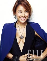 Lee Hyori для Elle November 2012