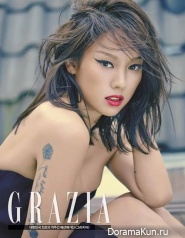 Lee Hyori для Grazia Magazine June 2014