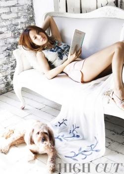 Lee Hyori для High Cut Vol. 75