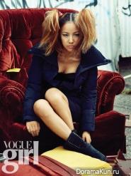 Lee Hyori для Vogue Girl November 2012