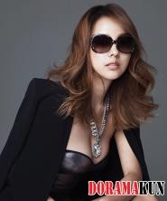 Lee Hyori для Vogue Korea August 2012