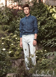 Lee Hyun Woo для CeCi September 2012
