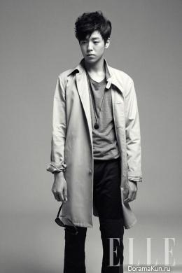 Lee Hyun Woo для Elle Korea June 2013