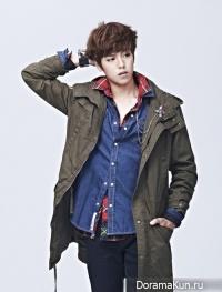 Lee Hyun Woo для Evisu 2012 CF