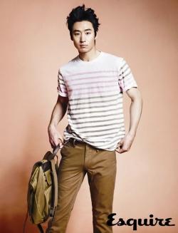 Lee Je Hoon для Esquire Korea April 2012