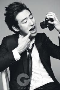 Lee Je Hoon для GQ Korea September 2011
