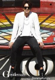 Lee Jin Wook для Gentleman July 2014