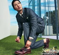 Lee Jin Wook, Kim Ji Suk для Singles September 2012