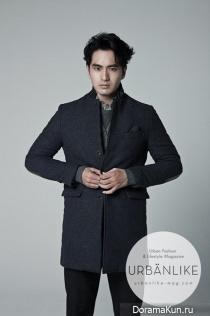 Lee Jin Wook для URBANLIKE Magazine November 2013