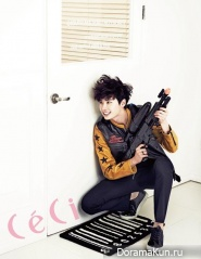 Lee Jong Suk для CeCi March 2013