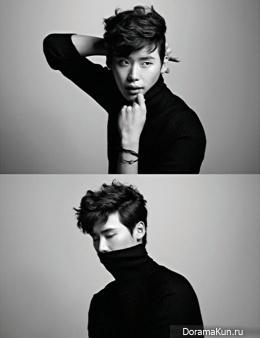 Lee Jong Suk для Harper's Bazaar March 2013 Extra