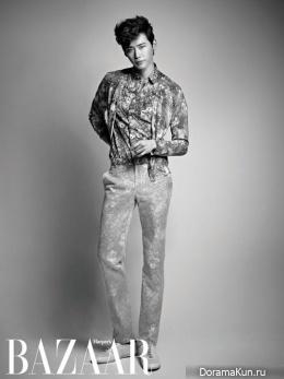 Lee Jong Suk для Harper's Bazaar March 2013
