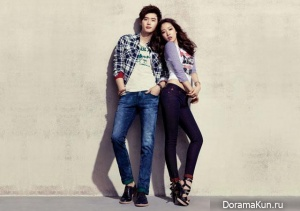 Park Shin Hye, Lee Jong Suk для Jambangee SS2013 Ads
