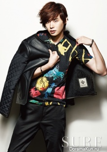 Lee Jong Suk для Sure September 2012