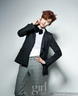 Lee Jong Suk для Vogue Girl Korea January 2011