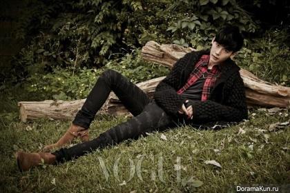 Lee Jong Suk для Vogue Korea October 2013 Extra 2