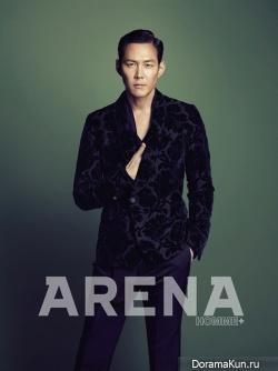 Lee Jung Jae для ARENA HOMME PLUS September 2012