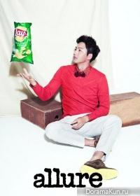 Lee Jung Jin для Allure February 2013