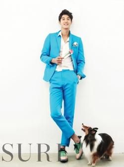 Lee Ki Woo для Sure May 2012