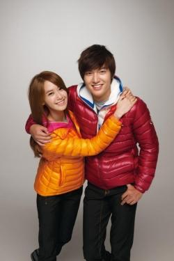 Lee Min Ho, SNSD's Yoona для Eider Fall 2011 Catalogue