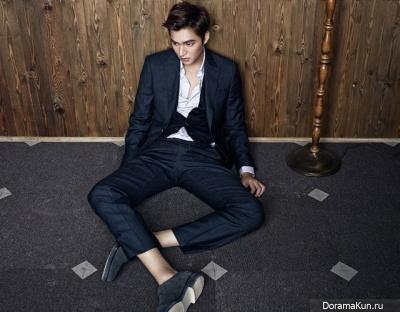 Lee Min Ho для Esquire Korea September 2013 Extra 2