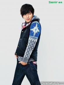 Lee Min Ho для Semir F/W 2012 Ads