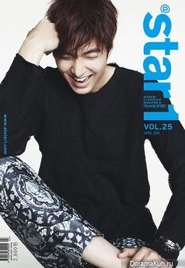 Lee Min Ho для @Star1 April 2014