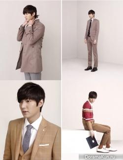 Lee Min Ho для Trugen SS12 Catalog 2012