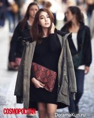 Lee Min Jung для Cosmopolitan Korea October 2013