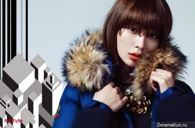Lee Min Jung для InStyle November 2012