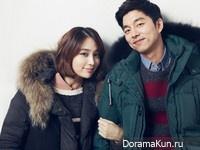 Lee Min Jung, Gong Yoo для Mind Bridge Winter 2012 Ads