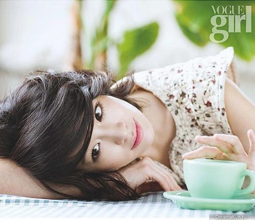 Lee Min Jung для Vogue Girl Korea