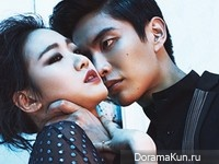 Lee Min Ki, Kim Go Eun для Elle March 2014