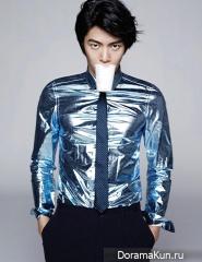 Lee Min Ki, Kim Min Hee для Harper's Bazaar March 2013 Extra
